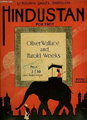 HINDUSTAN - FOX TROT POUR PIANO.: WALLACE OLIVIER G.