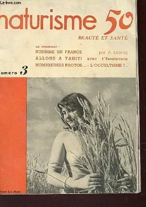 NATURISME 50 - N°3 / NUDISME EN FRANCE - ALLONS A TAHITI - NOMBREUSES PHOTOS . ...