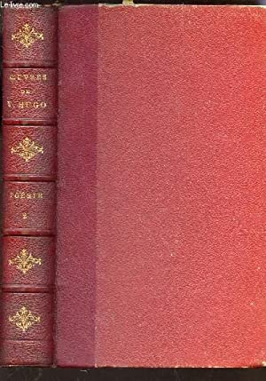 Hugo Victor Oeuvres De Victor Hugo Odes Et Ballades Les