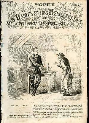MONITEUR DES DAMES ET DES DEMOISELLES ET BRODEUSE ILLUSTREE REUNIS - JUIN 1867 / Les deux ...