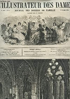 L'ILLUSTRATEUR DES DAMES - 2e Année - N°52 - 28 Déc 1862 / Eveque Grec ...