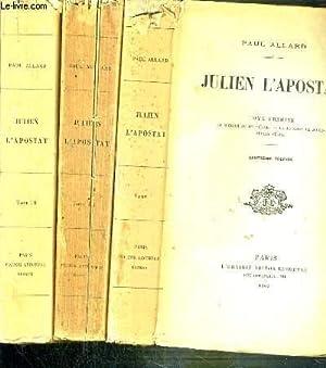 JULIEN L'APOSTAT - 3 TOMES - 1: ALLARD PAUL