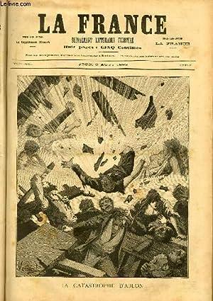 LA FRANCE - SUPPLEMENT LITTERAIRE ILLUSTRE - 2° ANNEE - N° 83: COLLECTIF