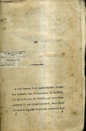 LE TAMBOUR DE LA 32E - TOME 4 - CHAPITRE III AU CHAPITRE XIV - INCOMPLET.: CAPENDU ERNEST