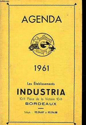 AGENDA 1961 - LES ETABLISSEMENT INDUSTRIA: COLLECTIF