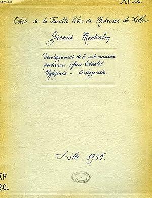 DEVELOPPEMENT DE LA VOUTE CRANIENNE POSTERIEURE (FACES LATERALES), PHYLOGENESE, ONTOGENESE, THESE: ...