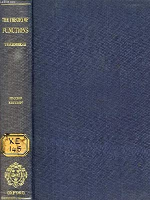 THE THEORY OF FUNCTIONS: TITCHMARSH E. C.