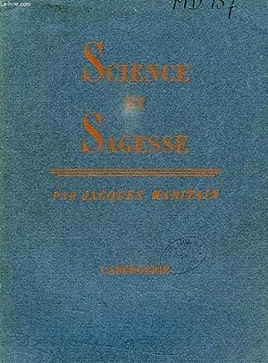 SCIENCE ET SAGESSE: MARITAIN JACQUES