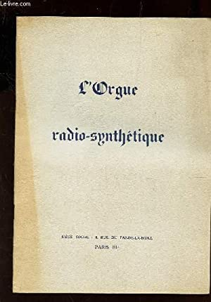 L'ORGUE RADIO-SYNTHETIQUE: COLLECTIF