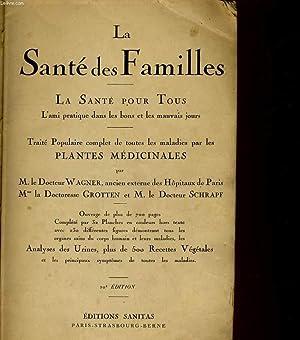 LA SANTE DES FAMILLES. LA SANTE POUR: WAGNER / GROTTEN