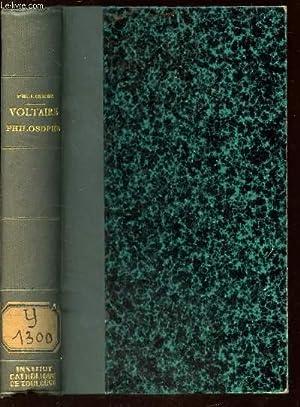 VOLTAIRE PHILOSOPHE: PELLISSIER GEORGES