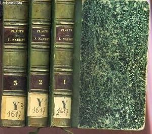 THEATRE DE PLAUTE - EN 3 VOLUMES / TOME PREMIER AU TOME 3.: PLAUTE