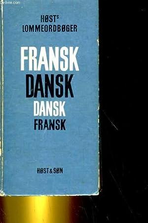 HOST'S FRANSK-DANSKE OG DANSK-FRANSKE LOMMEORDBOG: COLLECTIF