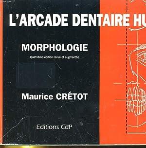 L'ARCADE DENTAIRE HUMAINE. MORPHOLOGOE: MAURICE CRETOT