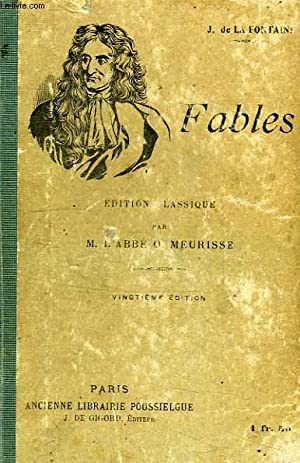 FABLES: LA FONTAINE, Par