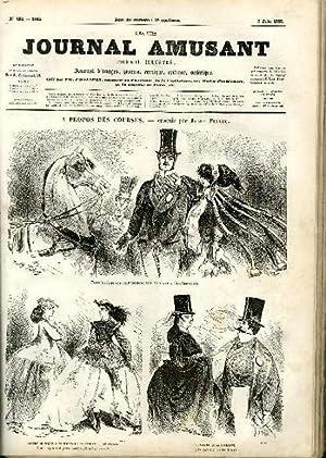 LE JOURNAL AMUSANT N° 492 : A PROPOS DES COURSES, L'HOMME AUX CAILLOUX, UNE REVOLTE, ...