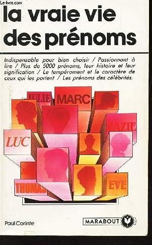LA VRAIE VIE DES PRENOMS - ndispensable: CORINTE PAUL
