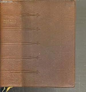MISSEL BIBLIQUE DE TOUS LES JOURS - VESPERAL ET RITUEL / TEXTE EN FRANCAIS ET LATIN: COLLECTIF
