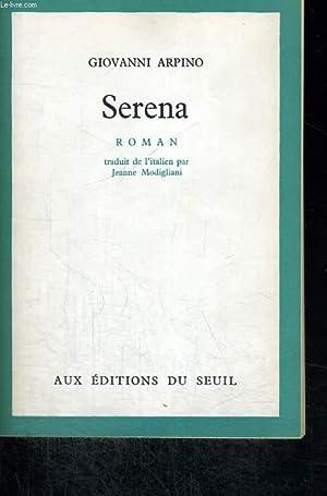 Serena: ARPINO Giovanni