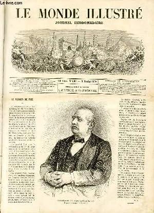 LE MONDE ILLUSTRE N°669 Le marquis de Piré, député au Corps législatif: COLLECTIF