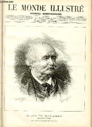 LE MONDE ILLUSTRE N°1361 M. Jules Sandeau: COLLECTIF