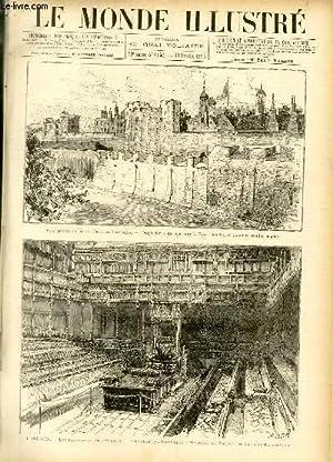 LE MONDE ILLUSTRE N°1453 Vue générale de la Tour de Londres - L'explosion ou a eu lieu dans la ...
