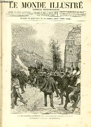 LE MONDE ILLUSTRE N°1622 Les manifestations antiboulangistes: COLLECTIF