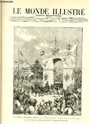 LE MONDE ILLUSTRE N°1758 Le voyage du Tsarewitch en Egypte: COLLECTIF