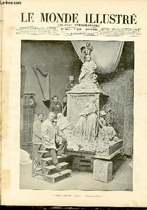 LE MONDE ILLUSTRE N°2248 Falguière dans son atelier: COLLECTIF