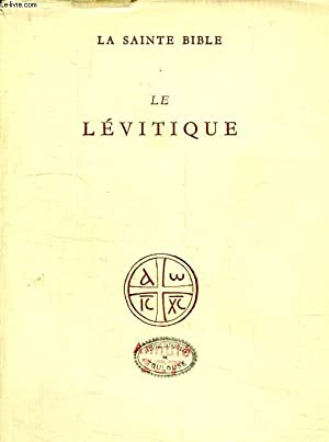 LE LEVITIQUE: COLLECTIF