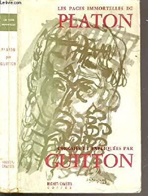 LES PAGES IMMORTELLES DE PLATON: GUITTON JEAN