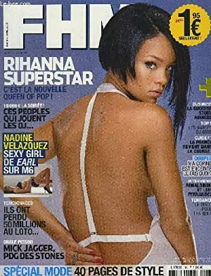 FHM N°105 - AVRIL 2008 : RIHANNA: COLLECTIF