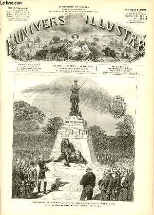L'UNIVERS ILLUSTRE - VINGT-TROISIEME ANNEE N° 1313 Inauguration du monument ducolonel ...