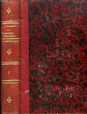 DOGMATA THEOLOGICA LUDOVICI THOMASSINI, PRESBYTERI CONGREGATIONIS ORATORII: THOMASSINUS LUDOVICUS, Par