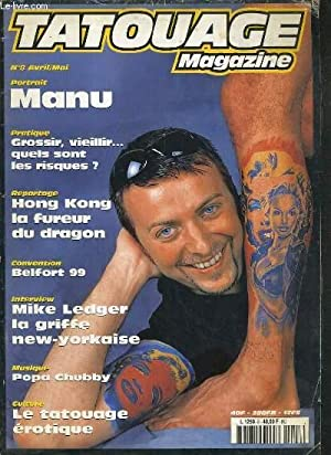 TATOUAGE MAGAZINE - N°8 - AVRIL-MAI - 1998: COLLECTIF