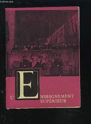 L'ENSEIGNEMENT SUPERIEUR DANS LA REPUBLIQUE SOCIALISTE TCHECOSLOVAQUE.: HOLUBEC LUDEK