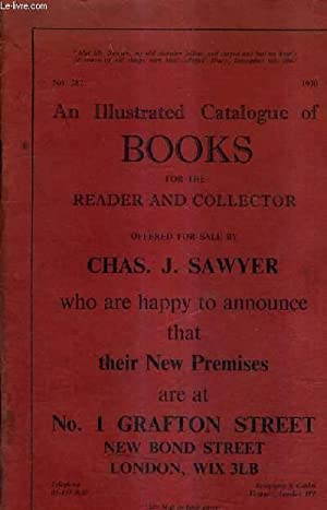 CATALOGUE N°282 1970 DE LA LIBRAIRIE CHAS.J.SAWYER - AN ILLUSTRATED CATALOGUE OF BOOKS FOR THE ...