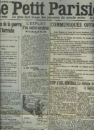 LE PETIT JOURNAL - N°14.088 : LES PREMIERES JOURNEES DE LA GUERRE ENTRE L'ITALIE ET L&#x27...