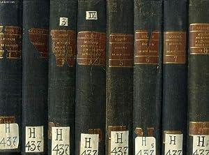 MEMOIRES POUR SERVIR A L'HISTOIRE DE MON TEMPS, 8 TOMES (COLMPLET): GUIZOT M.
