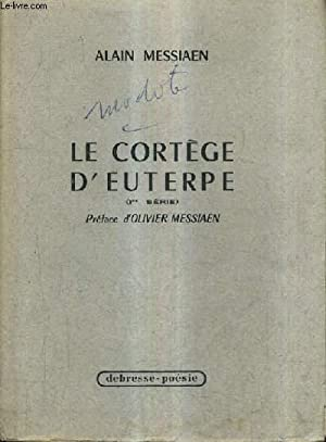 LE CORTEGE D'EUTERPE (1ER SERIE).: MESSIAEN ALAIN
