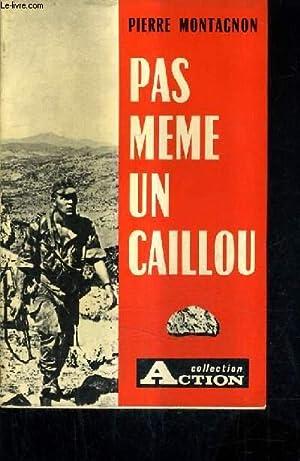 PAS MEME UN CAILLOU.: MONTAGNON PIERRE