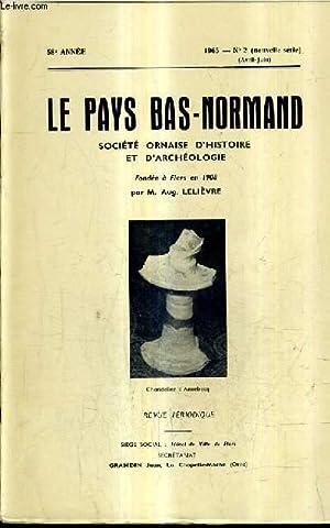 LE PAYS BAS NORMAND N°2 NOUVELLE SERIE: COLLECTIF