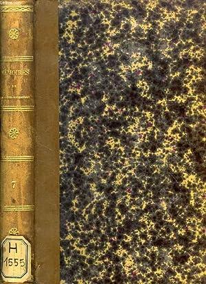 TRENTE ANS DE MA VIE (DE 1795 à 1826), OU MEMOIRES POLITIQUES ET LITTERAIRES, TOME VII: ...