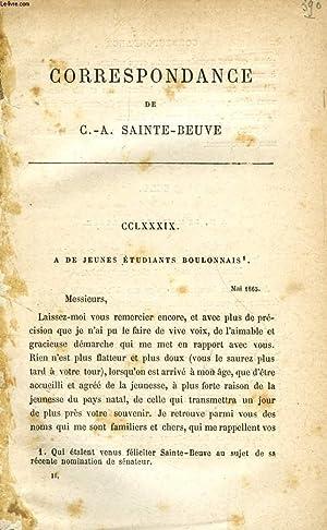 CORRESPONDANCE DE C.-A. SAINTE-BEUVE (TOME II): SAINTE-BEUVE C.-A.