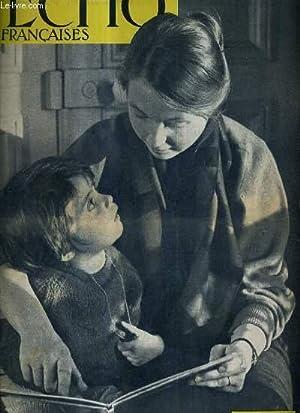L'ECHO DES FRANCAISES ACTION CATHOLIQUE GENERALE FEMININE FEVRIER 1963 - mon fils part pour le...
