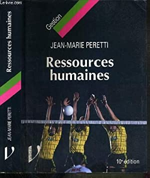 RESSOURCES HUMAINES - 10ème EDITION - 2006 2007.: PERETTI JEAN-MARIE