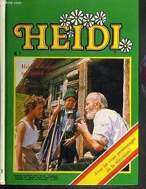 TELEGUIDE - HEIDI - N°1 - HEIDI RENCONTRE SON GRAND-PERE: COLLECTIF