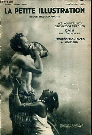 LA PETITE ILLUSTRATION N°506 CINEMA N°16 -: COLLECTIF