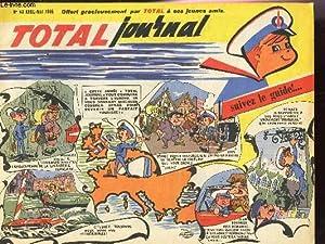 TOTAL JOURNAL - N°43 - AVRIL-MAI 1965 - L'automobile sur la Manche - 700 km a l'heure...