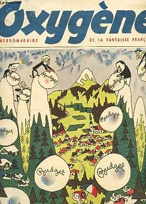 OXYGENE - N°3 - 12 decembre 1949 / LES AVALANCHES TRAGIQUES: COLLECTIF